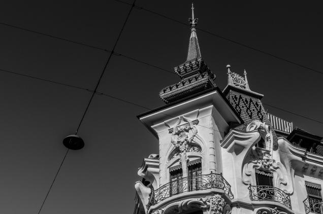 Architecture, Eaux-Vives, Geneva