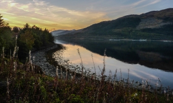 Loch Leven, Scotland: Post-Processed
